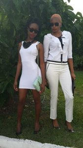Yaneke Modeling for A Jamaican Botique