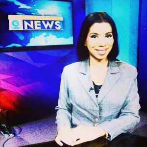 Maia At the News Desk